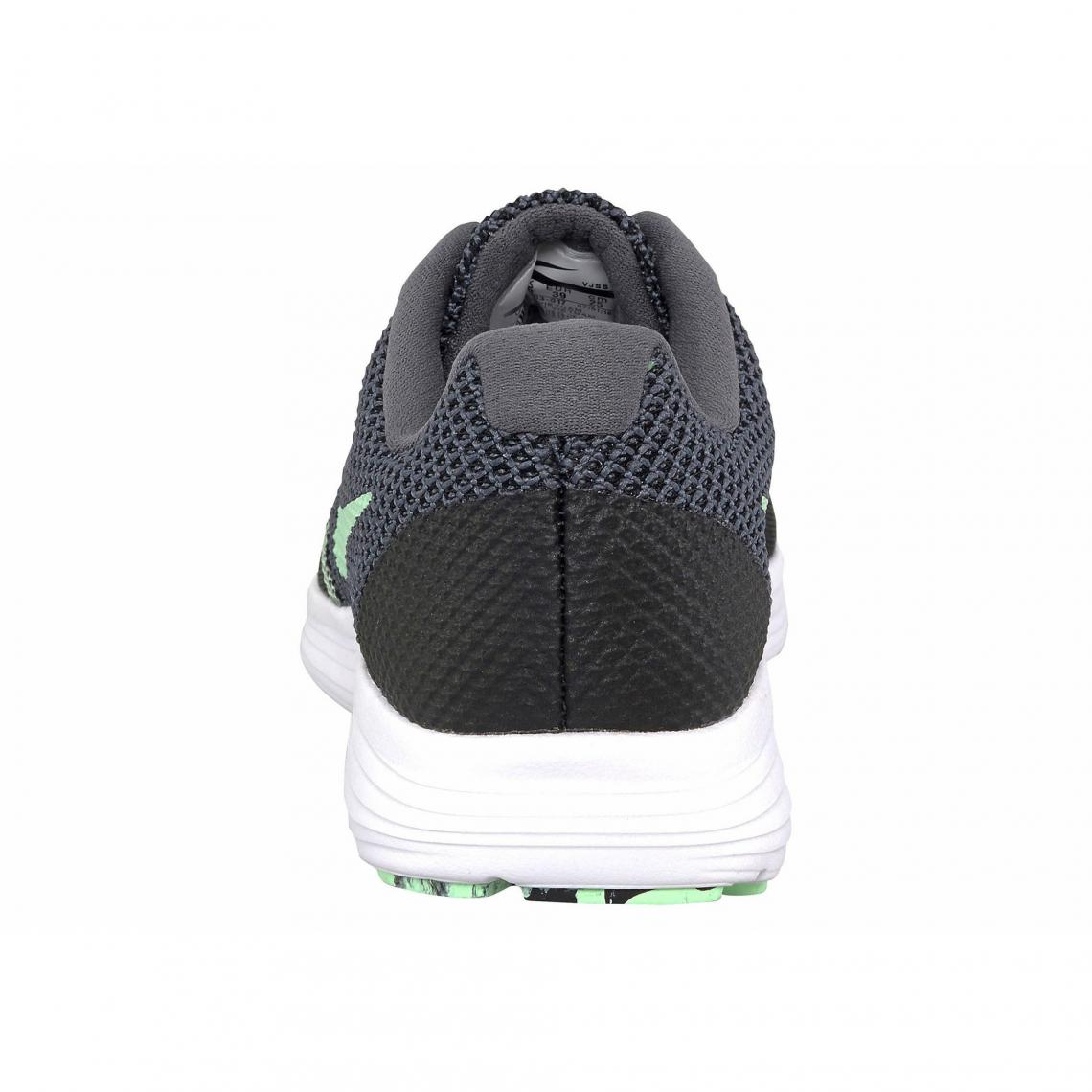 Révolution Nike Wmns 3 Femme Blanc Noir Chaussures De Running grrqFdx