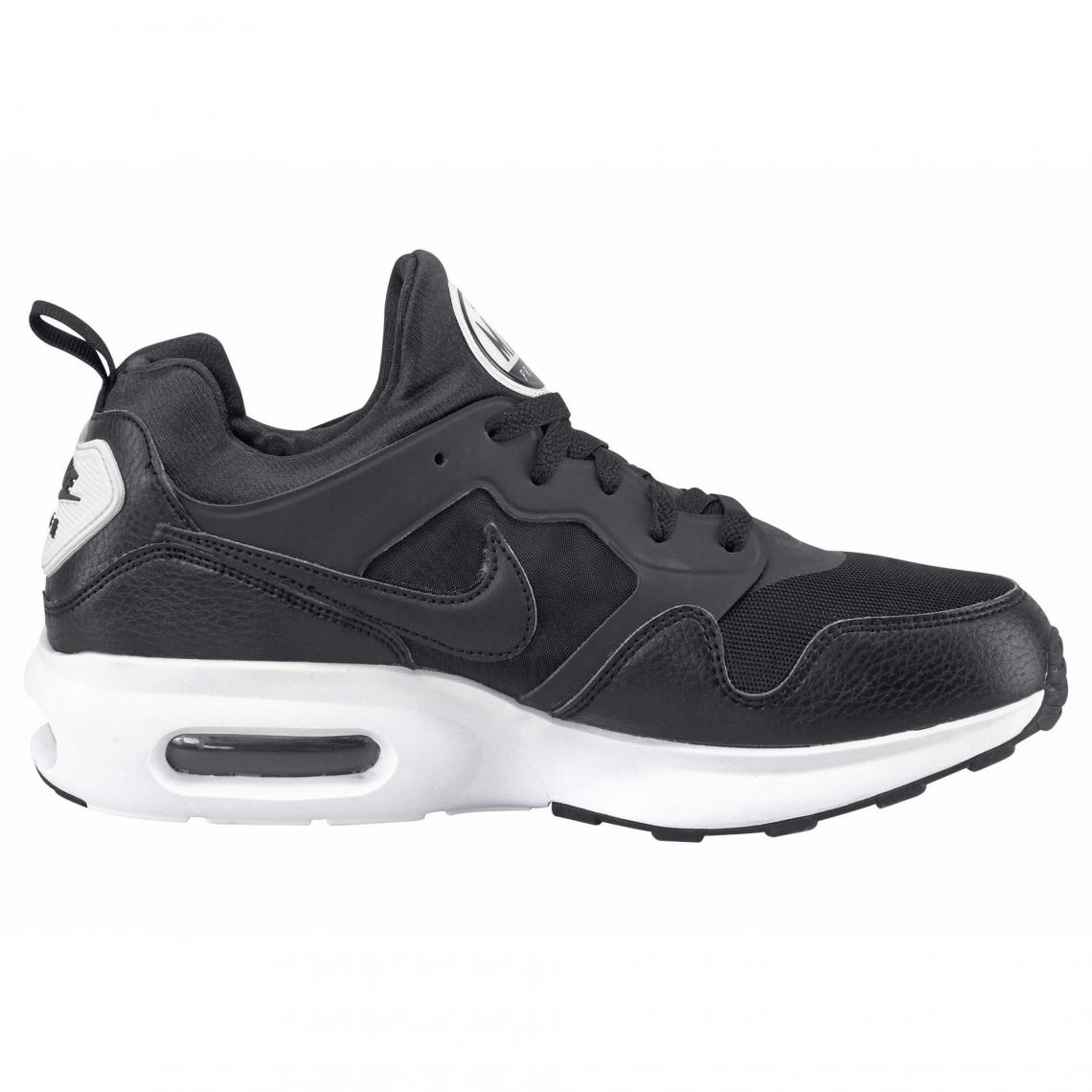 best service a7e1f 93a23 Nike Air Max Prime chaussures running homme - Noir - Blanc Nike Homme
