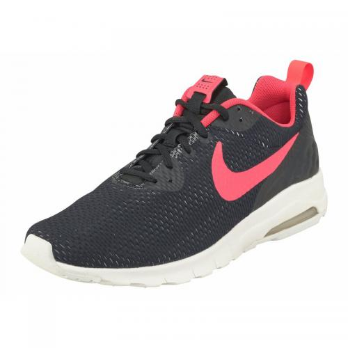 Nike - Nike Air Max Motion Low SE chaussures de running homme - Noir - Rouge - Baskets