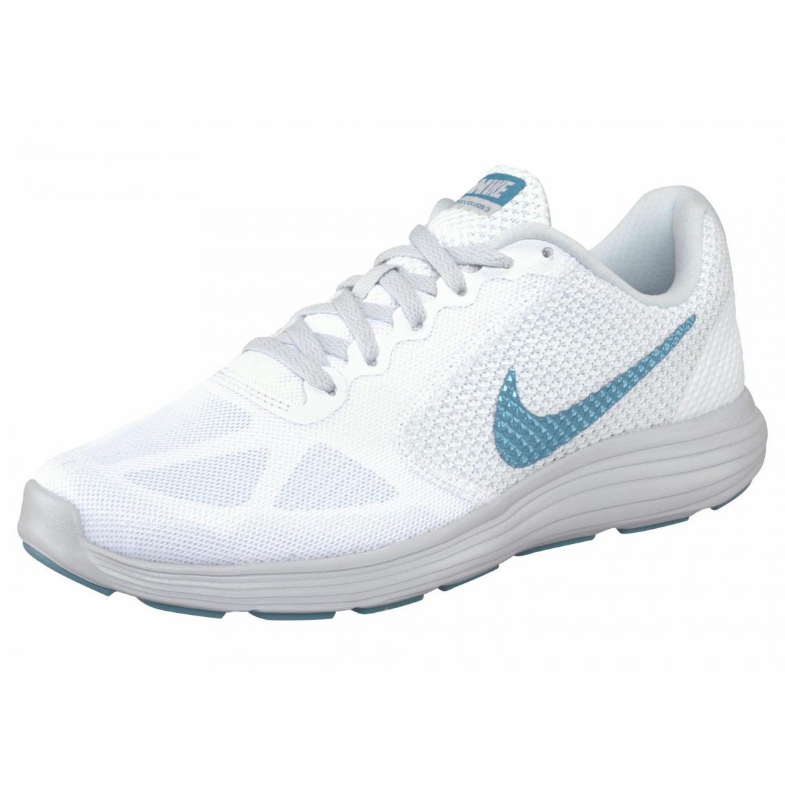 Nike Révolution 3 Wmns chaussures de running femme Blanc