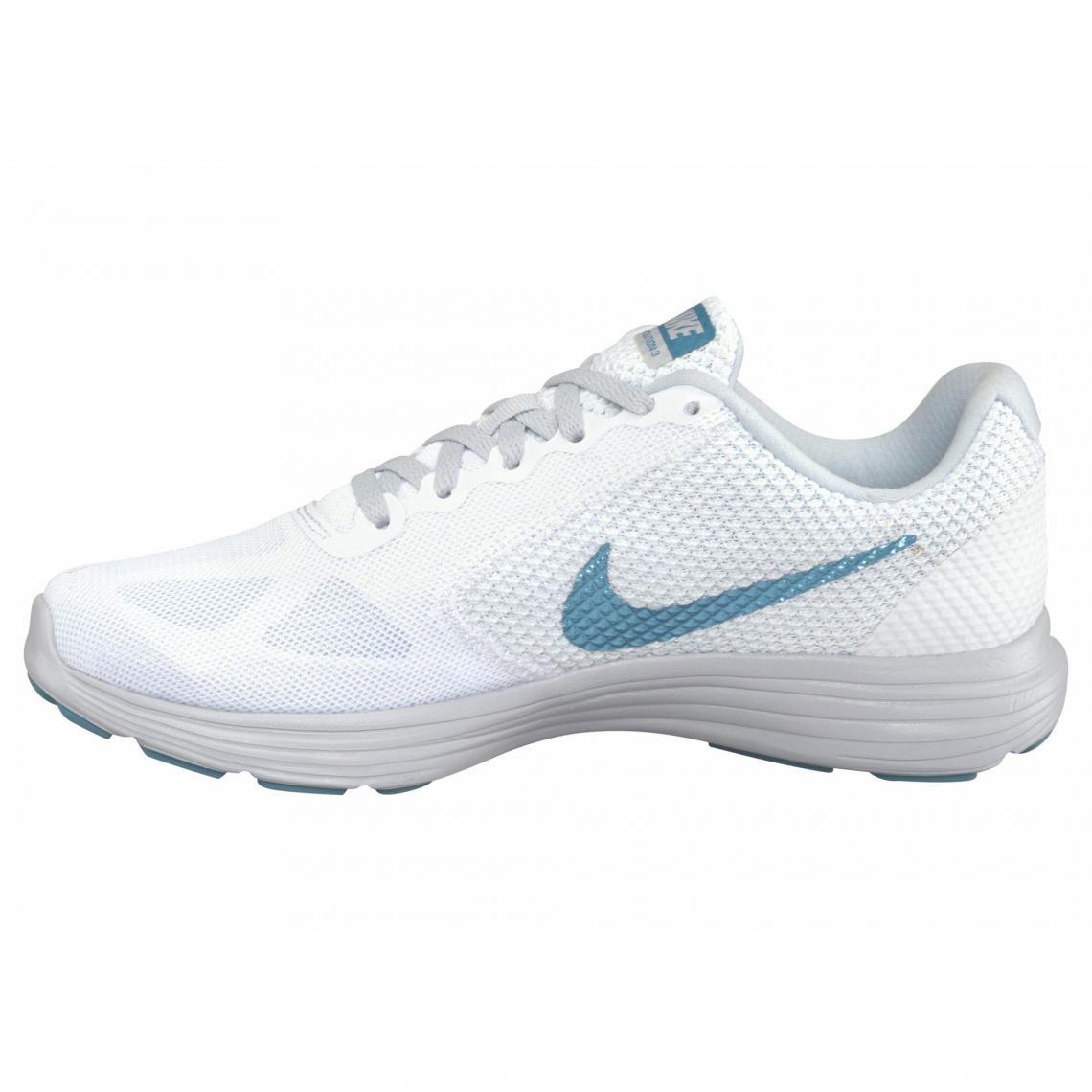 De Nike Wmns Femme 3 Blanc Révolution Chaussures Running Suisses yN0vnOm8w