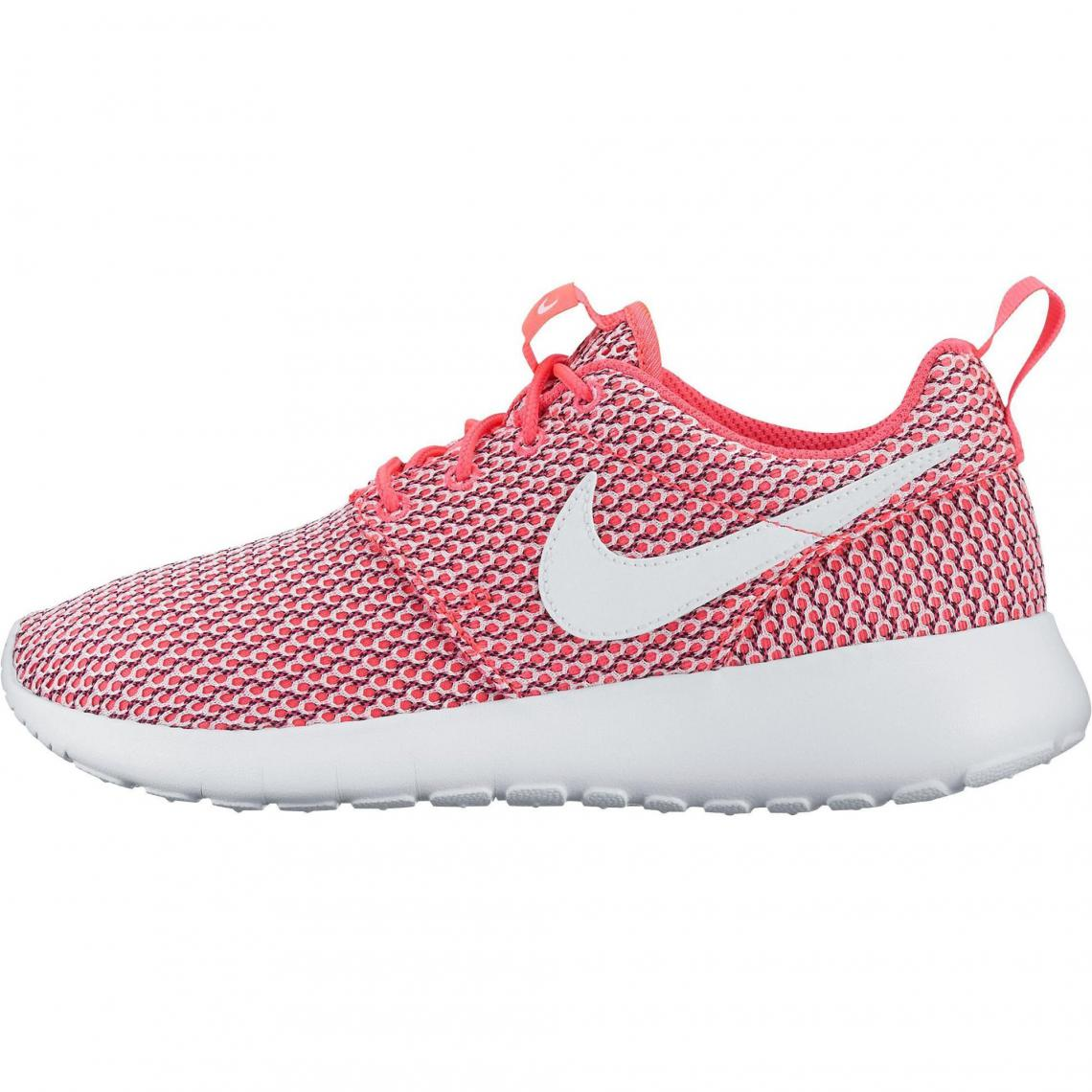 newest 24a17 59be0 NIKE Roshe One chaussures de running junior - Rose Nike Femme