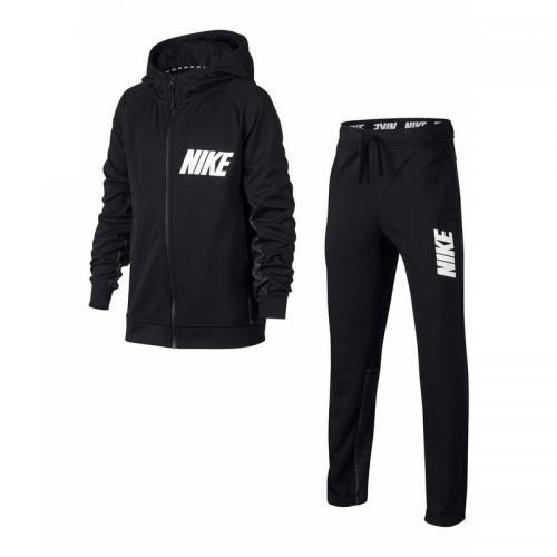 fef7c65975c3 Nike - Survêtement manches longues à capuche junior Nike Sportswear  Advantage 15 - Noir - Nike
