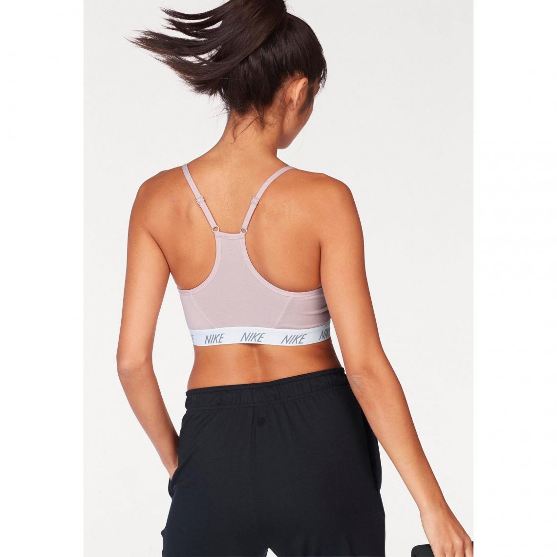 Soutien-gorge de sport femme Indy Soft Bra Nike - rosé  830a43a0765