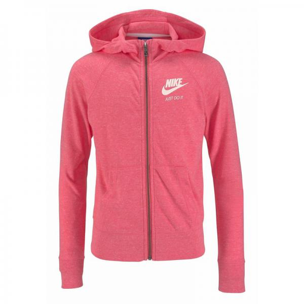 Sweat-shirt zippé à capuche fille Nike