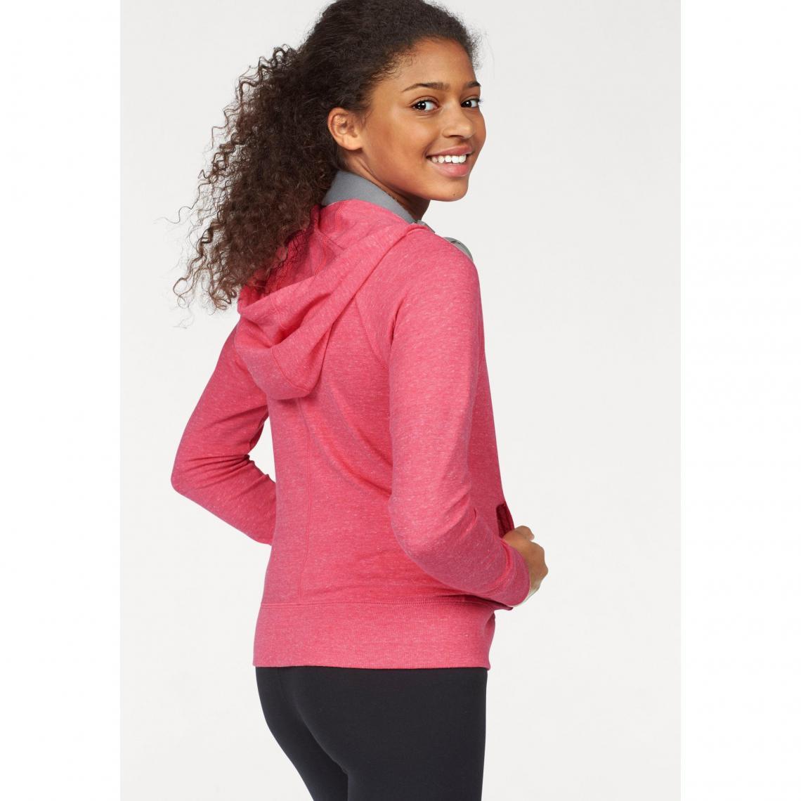 525df092e1 Sweat-shirt zippé à capuche fille G NSW Vintage Hoodie Fullzip Nike ...
