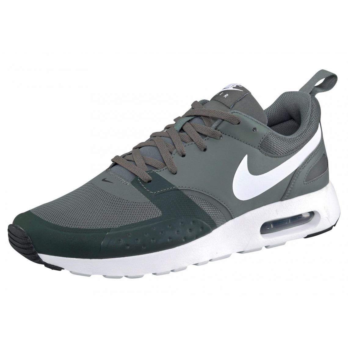 the latest a1f71 2c645 Nike Air Max vision chaussures sport homme - Noir - Noir - Blanc Nike Homme