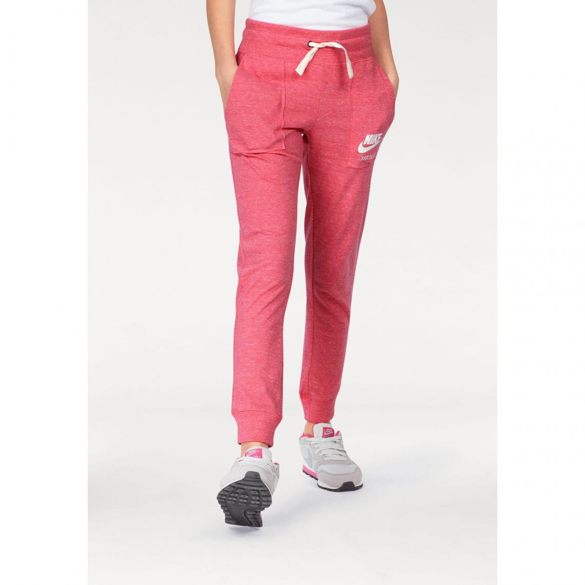 Pantalon de jogging Nike Sportswear Gym Vintage junior fille - Corail Nike  Enfant 6cbc7c954d3