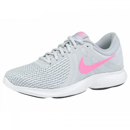 Nike - Sneaker femme Nike Revolution 4 - gris clair / corail - Chaussures femme