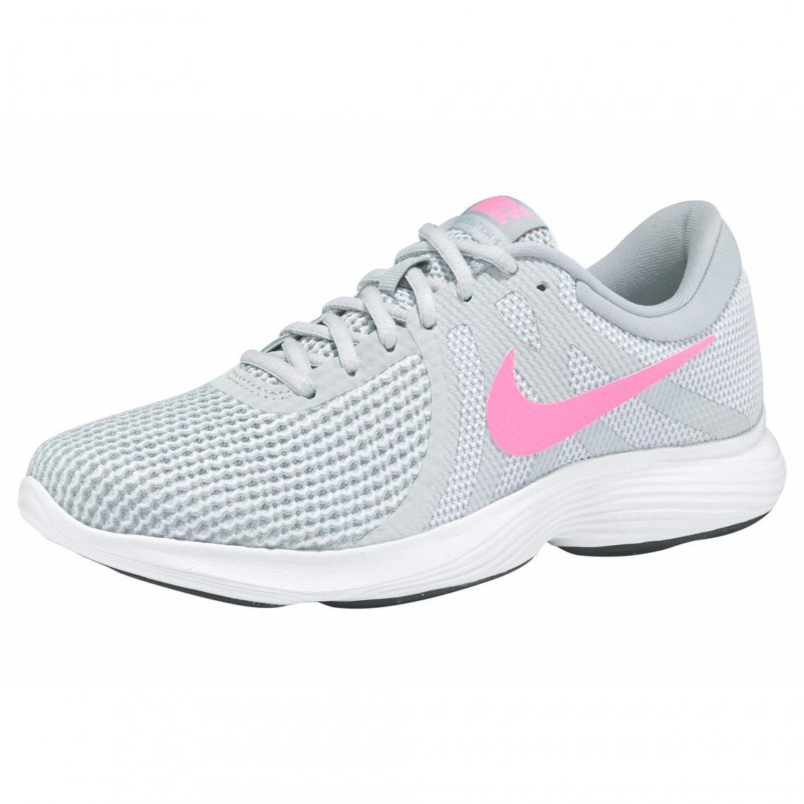 67917a52664f Sneaker femme Nike Revolution 4 - gris clair   corail Nike Femme