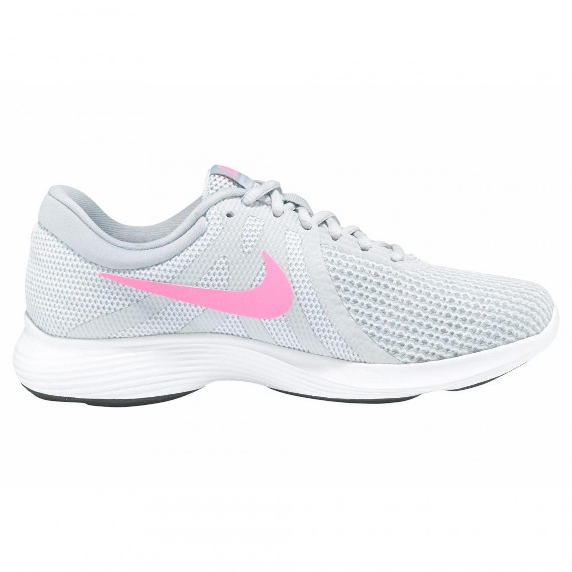 53395f729c18 Sneakers Nike Cliquez l image pour l agrandir. Sneaker femme Nike  Revolution 4 - gris clair   corail Nike