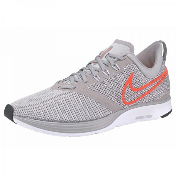 Chaussures running NIKE Zoom Strike pour homme - Gris - Blanc Nike Homme