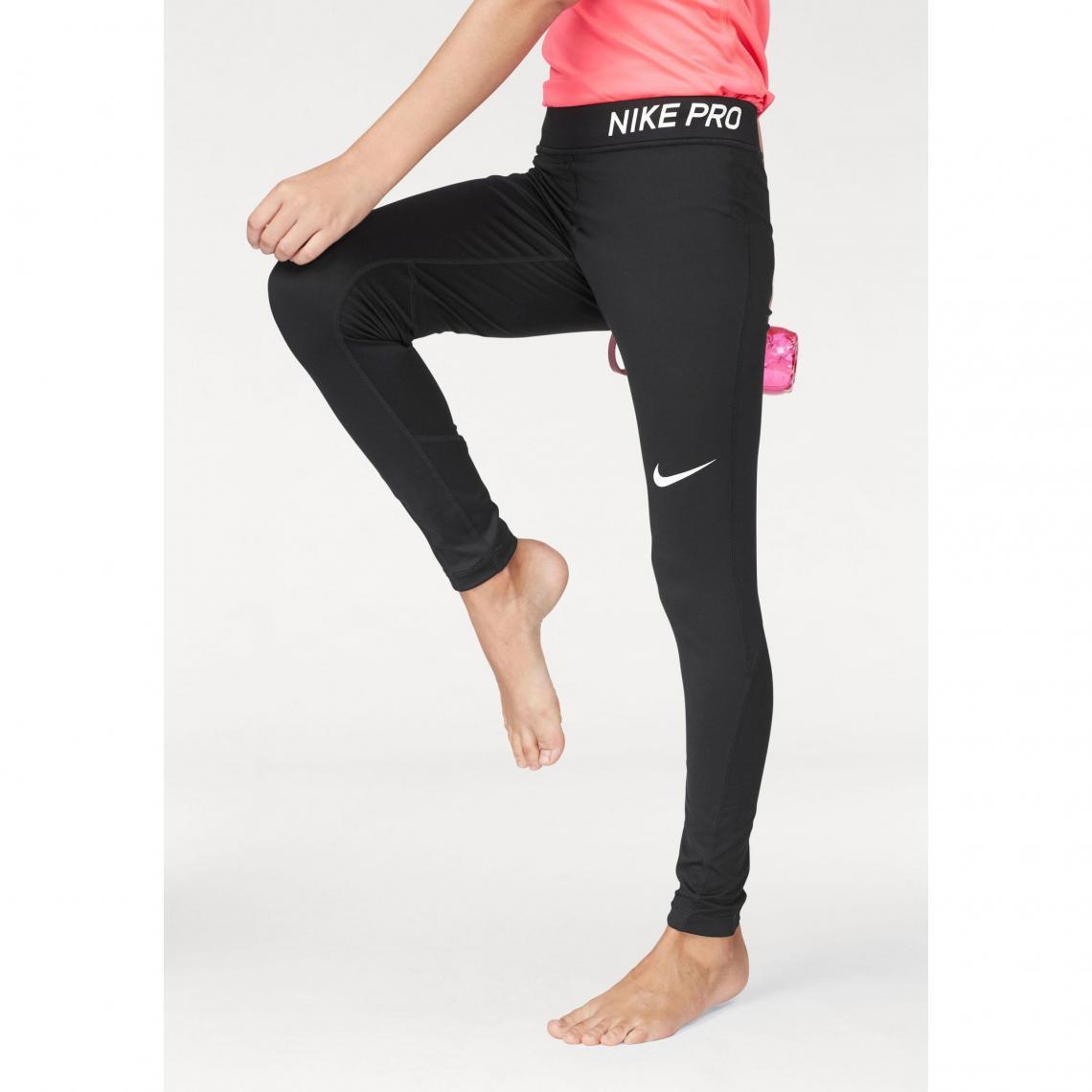 Collant de training femme Nike Pro - Noir Nike Enfant 5e9bf39fe13
