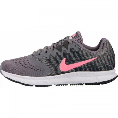 half off 0feb9 02a07 Nike - Sneaker running femme Zoom Span 2 Nike - Gris - Corail - Chaussures  femme