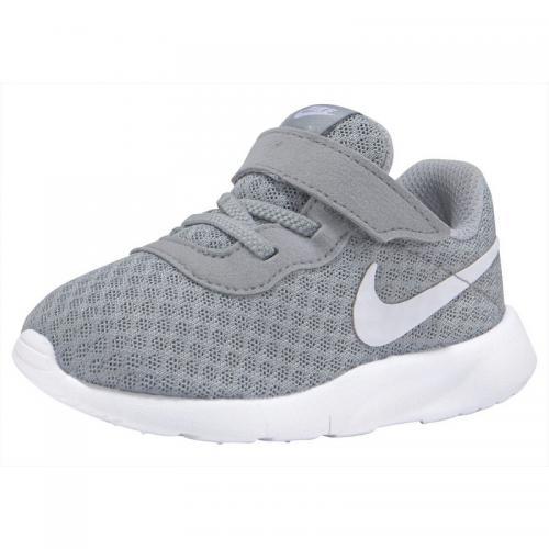66d30eb0143929 Nike - Baskettes mixtes pour enfant Tanjun de Nike - Gris - Blanc - Chaussures  bébé