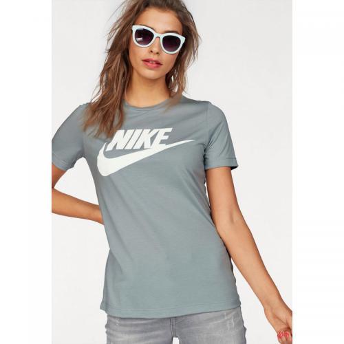 acheter populaire d20a6 28373 T-shirt col rond manches courtes femme Essential Nike Sportswear - Bleu Ciel