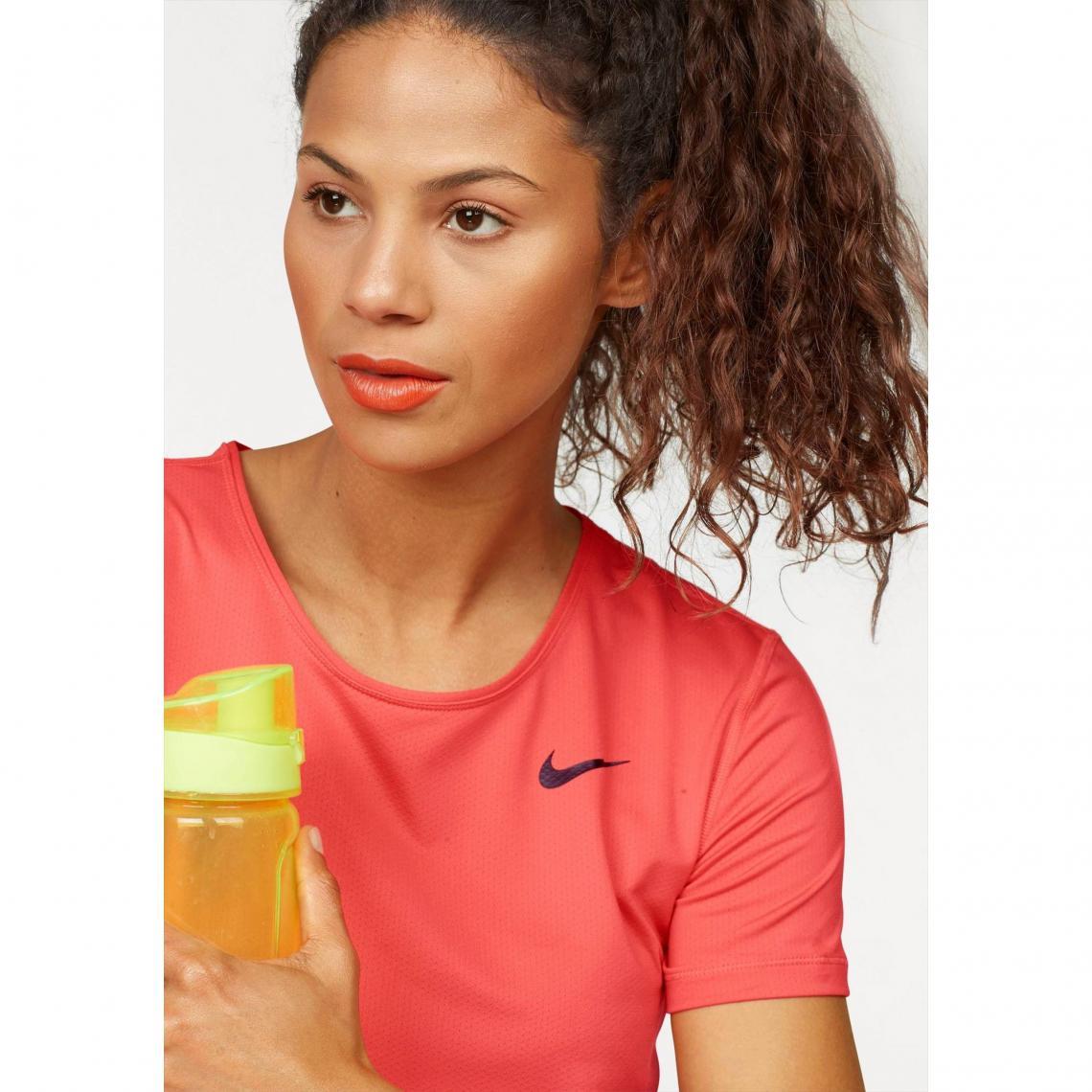 t-shirt femme nike orange