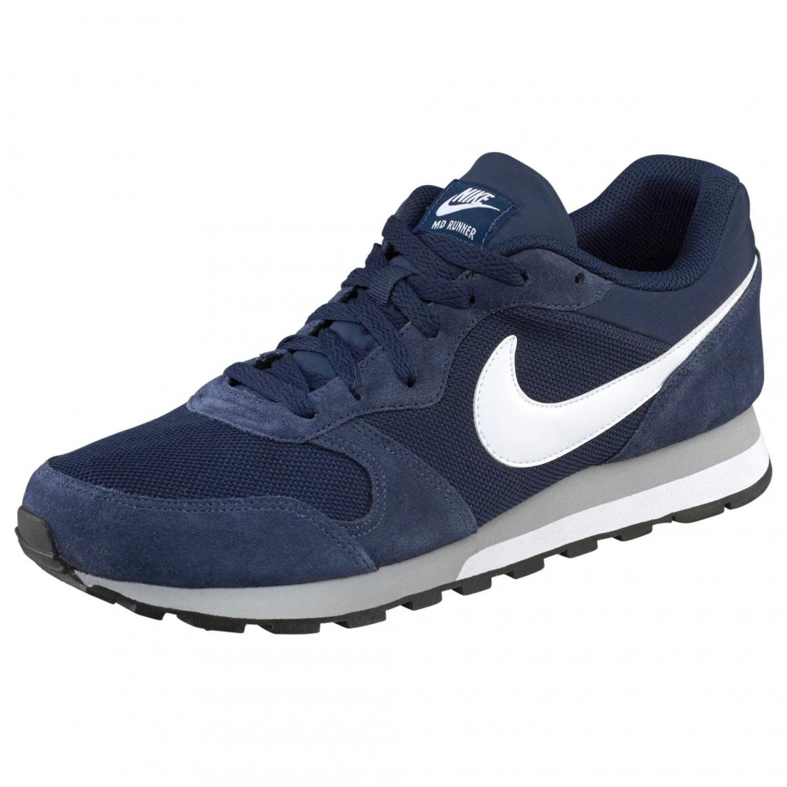 sports shoes 05f17 fb3ee Nike MD Runner 2 chaussures de tennis homme - Bleu Nike Homme