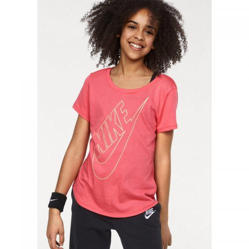 Nike - Tee-shirt manches courtes fille Nike - Rose Vif - Vêtements sport fille