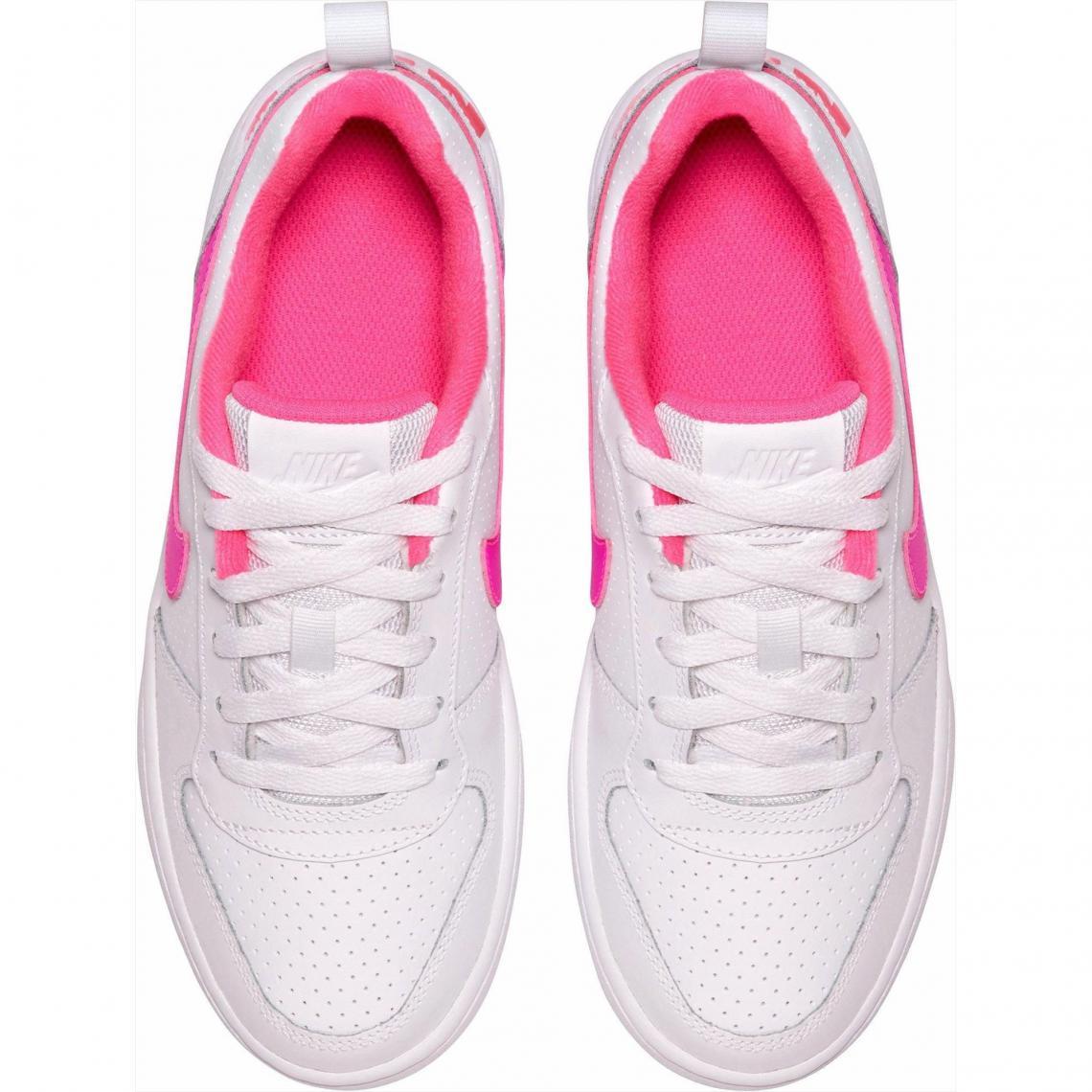 4591627e897d2 Baskets fille sportswear de Nike - Blanc - Rose Nike
