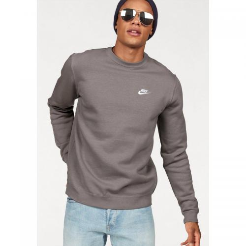 Nike - Sweat col rond Homme Nike - Marron - Promos sport homme