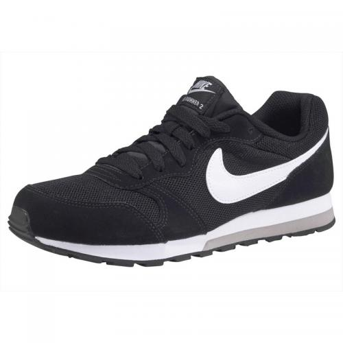 Nike - Tennis Nike Sportswear MD Runner 2 - Noir - Blanc - Vêtements fille