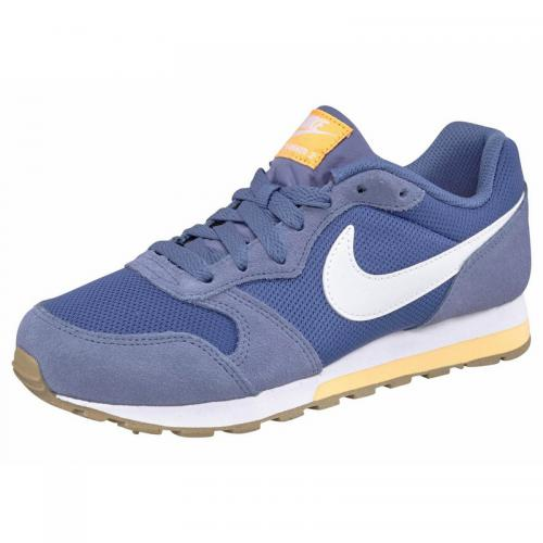 best deals on 868ef 30f0f Nike - Tennis Nike Sportswear MD Runner 2 - Bleu - Blanc - Chaussures de  sport