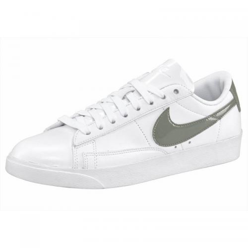 Nike - Sneaker Blazer Low LE femme Nike - Blanc - Gris - Chaussures femme