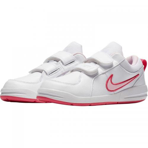 buy online c4b7a 9ea27 Nike - Baskettes Mixtes enfants Pico 4 de Nike - Rose - Blanc - Vêtements  Nike