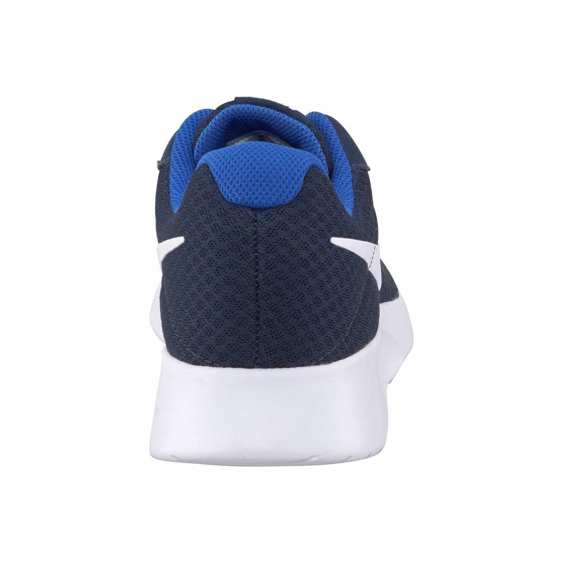 b5da8f5159fa4 Toutes les chaussures Nike Cliquez l image pour l agrandir. Baskets homme  Tanjun de Nike - Marine - Blanc Nike Cliquez ...