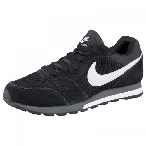 5f478fb559431 Nike - Nike MD Runner 2 chaussures de tennis homme - Noir - Blanc - Nike