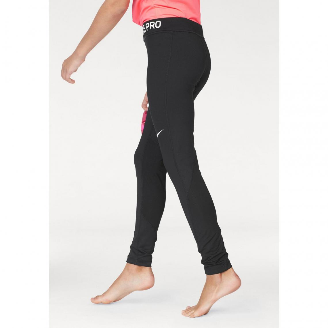 Survêtements fille Nike Cliquez l image pour l agrandir. Collant de  training femme Nike Pro - Noir Nike e3d9a693ff9