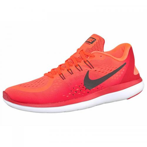 Nike Flex Run 2017 chaussures running homme - Rouge Nike Homme