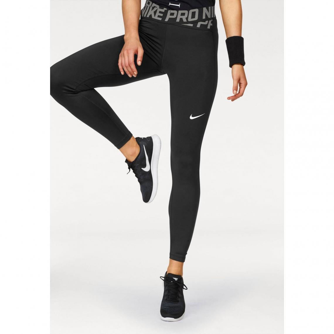 Collants de sport femme Nike - Noir Nike Femme 5f7295d4ef1