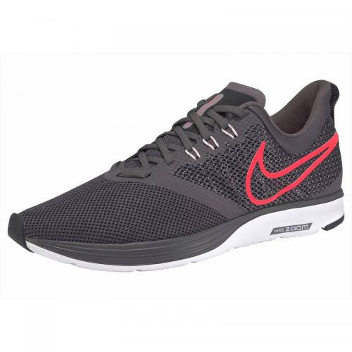 best loved a2aea b1c86 Nike - Baskettes de running NIKE Zoom Strike pour homme - Gris Anthracite -  Orange -