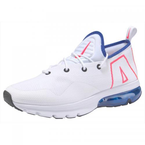 new styles 98a8d 8ca42 Nike - Baskets homme Nike Sportswear Air Max Flair 50 - Blanc - Bleu -  Sneakers