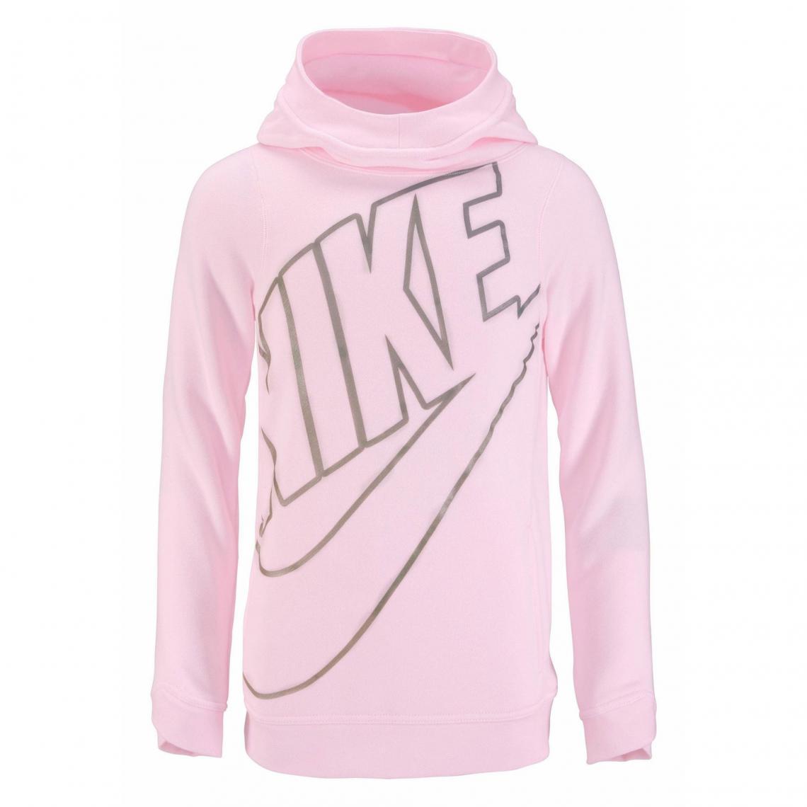 1b10ddcb7e606 Sweat enfilable à capuche fille Nike - Rose Nike