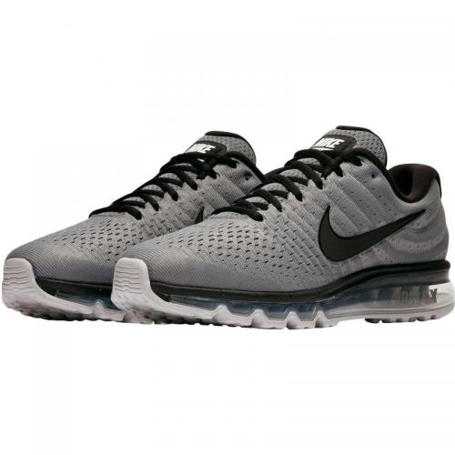 Nike - Nike Air Max 2017 chaussures de running homme - Gris - Noir - Chaussures homme Nike