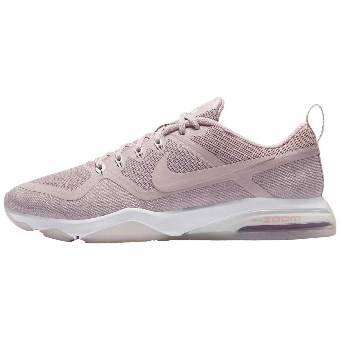 Nike Chaussures Rose Sombre fitness Fitness Zoom Air femme de ggaxZqnSzt