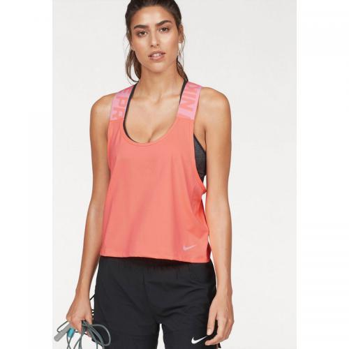online store a1882 53b31 Nike - Débardeur de sport femme Nike - Orange - T-shirt sport
