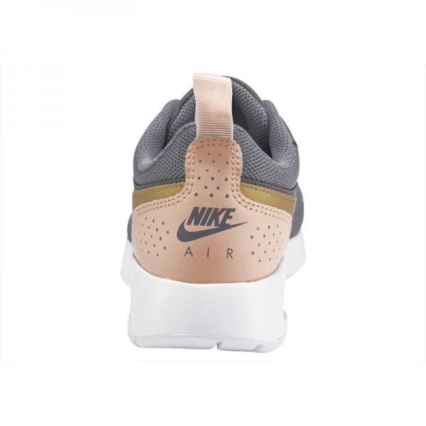Baskettes fille Air Max Vision de Nike - Gris / or Nike