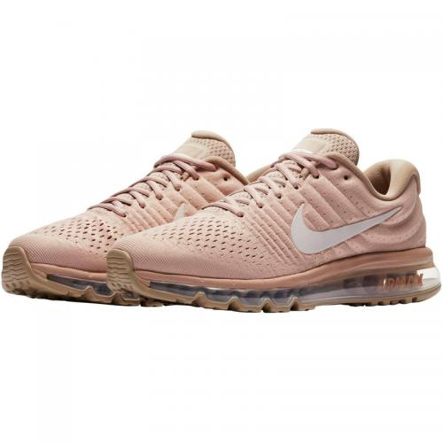Nike - Nike Air Max 2017 chaussures de running homme - Beige - Noir - Chaussures homme Nike