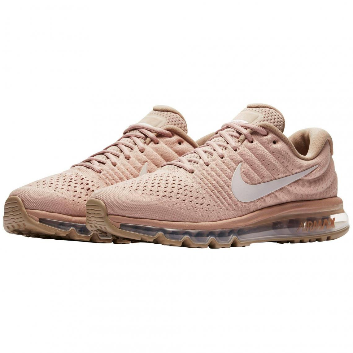 huge selection of 3e922 9ccb7 Nike Air Max 2017 chaussures de running homme - Beige - Noir | 3 SUISSES