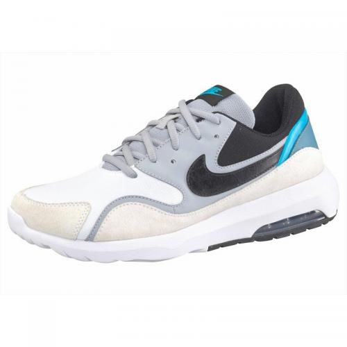Nike - Chaussures de running homme Nike Air Max Nostalgic - Gris - Bleu Pétrole - Chaussures homme Nike
