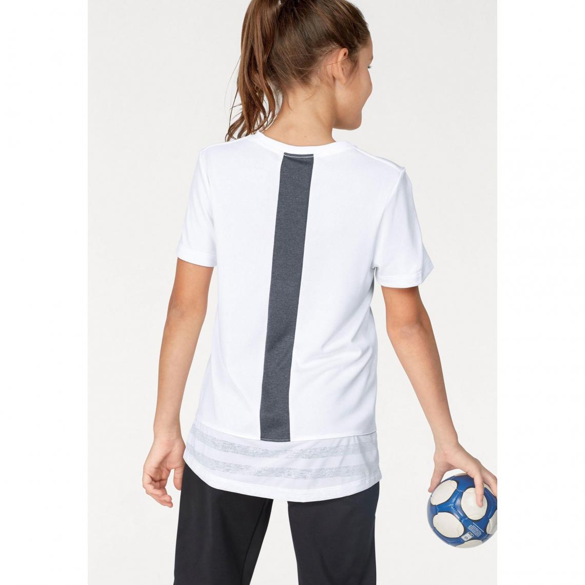 T-shirts de sport fille Nike Cliquez l image pour l agrandir. T-shirt col  rond manches courtes fille Dri-FIT® ... 884f01ad695