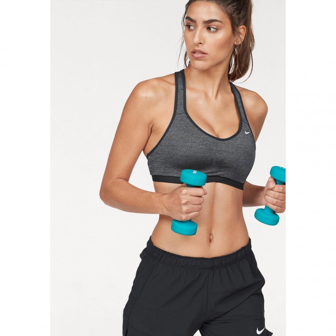 Soutien-gorge de sport Nike - Noir Nike Femme 98d6c14591c