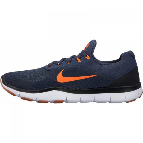 Nike - Nike Free Trainer 7.0 chaussures de training basses homme - Bleu - Orange - Baskets de sport