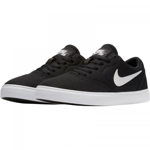 Nike - Baskettes mixte Junior Check canvas de Nike - Noir - Blanc - Vêtements fille