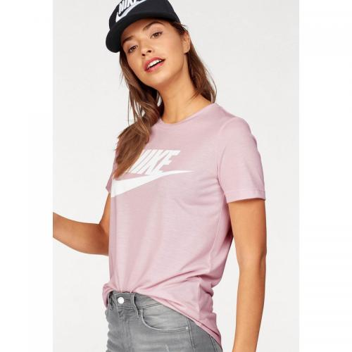 Nike - T-shirt col rond manches courtes femme Essential Nike Sportswear - rosé - Nike