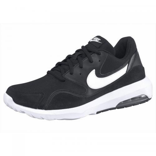 50f840427d4d7 Nike - Chaussures de running homme Nike Air Max Nostalgic - Noir - Blanc -  Chaussures